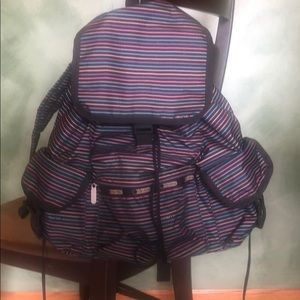 Lesportsac backpack, EUC